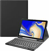 Bluetooth Keyboard Case For Samsung Galaxy Tab S4 10.5'' 2018 Stand Cover