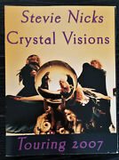 Stevie Nicks Crystal Visions 2007 Tour Program Rare The Boots Are Back