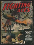 Fighting Aces 7/1944-popular-ace Of Spads By David Goodis-violent Pulp Air ...