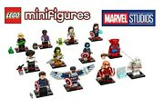 Lego Marvel Collectible Minifigures 71031 Complete Set Of 12 🔥 In Hand 🔥