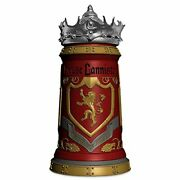 Game Of Thrones Jug With Lid House Lannister Sigil 650ml Ceramic 25cm