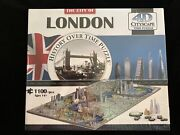 New—4d London Cityscape Puzzle, 1100+ Pieces, History Over Time Puzzle, 40012