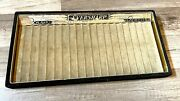 Antique Eversharp Fp Counter´s Tray Display For 18 Pens, 30´s Usa Ar4984