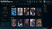 League Of Legends Na 625 Skins Account With Extra 12 Gemstones