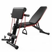 Strength Training Adjustable Benches For Full Body Workout, Weight Bench With