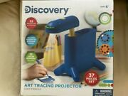 Discovery 37 Piece Art Tracing Projector, Brand New In Box Fun