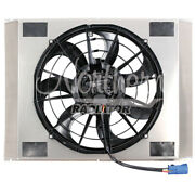 Northern Radiator Single 16in Brushless Fan And Shroud Z40136