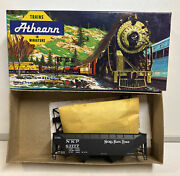 Athearn / Accurate Ho Scale Nkp Nickel Plate Road 2 Bay Hopper Car Kit 63777
