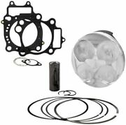 Cp-carrillo Piston / Cometic Top End Gasket Kit For Honda Crf 450 R Cpkx2059