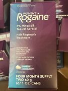 Lot Of 50 Rogaine Women Foam Hair Regrowth 4 Month Supply - 2022 And 2023