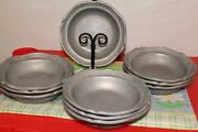Wilton Rwp Columbia Pa Queen Anne 7 1/4 Soup/salad/cereal Bowls Big Lot Of 10