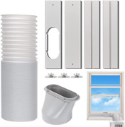 Kxuhivc Portable Air Conditioner Windows Vent Kit, Adjustable Window Seal With
