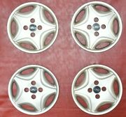 1998-2000 Ford Contour 14 Hubcaps Wheel Covers 97bg1130kb 7004 Set Of 4