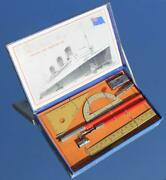 Cunard White Star Line Rms Queen Mary Rare Boxed And Mint Stationery Set C-1936