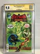 Cgc Ss 9.8 Batman Facsimile Edition 232 With Remark Signed By Neal Adams