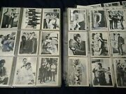 1964 Topps Beatles Black And White Complete 165 Card Set Plus 118 Doubles