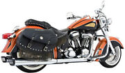 Performance Dual Exhaust System With 4in. Racing Muffler - Chrome Body In00003