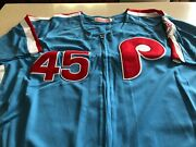 Mitchell And Ness Cooperstown Collection 1983 Phillies Tug Mcgraw Jersey - Mens Xl