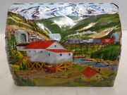 Marx Tin Train Layout Tunnel 1955 1965 Vintage Scale To Great Shape Old