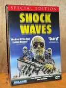 Shock Waves Dvd, 2014 Peter Cushing Horror Best Of The Nazi Zombie Movies New