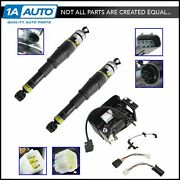 Arnott Rear Air Ride Suspension Strut/spring And Compressor Kit Set For Chevy Gmc