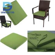 Uheng 6 Pack Patio Outdoor Chair Cushions With Ties Seat Pads Mat Waterproof R