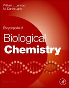 Encyclopedia Of Biological Chemistry Second Edition