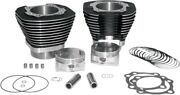 S S Cycle Black 97 Big Bore Kit For Harley Davidson H-d 99-06 Twin Cam 910-0205