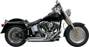 Bassani Manufacturing - 1s24f - Pro Street Exhaust System With Heat Shields