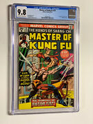 Master Of Kung Fu 29 Cgc 9.8 Ow/w Pages 1st Razor Fist Movie Villain Vhtf