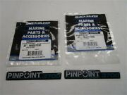 Mercury Quicksilver Decal Pair 2 37-m0037030 For Motorguide Pinpoint Gps Boat