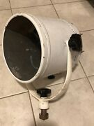 """Carlisle And Finch 69922 12"""" Brass/stainless Searchlight Spotlight"""