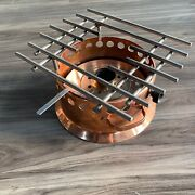 Spring Switzerland Copper Alcohol Stove - Cooking Burner Grill - Rare Piece
