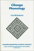 Cilungu Phonology Stanford Monographs In African Languages, Bickmore, Lee, Goo