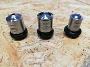 Olympus Chiyoda 6-piece Set Good Condition Microscope Objective 3