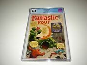 Fantastic Four 1 Cgc 9.4 White Pages 1966 Golden Record Reprint