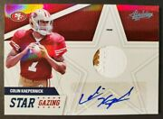 Colin Kaepernick 2011 Absolute Rookie Rc Auto Jersey Patch Ssp 19/25 49ers Star