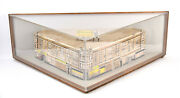 Ceramic Architectural Model 1920's Building Jerome Fabrics Beverly Chicago