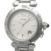 Pasha 38 Date W31027h3 Automatic Silver Dial Stainless Mens