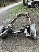 1978 79 80 81 82 83 85 86 87 Chevrolet El Camino Elcamino Chassis Frame Project