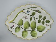 Royal Worcester - The Blind Earl - Oval Scalloped Dish 11 X 8 Mint England