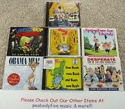 Lot Of 7 The Capitol Steps Cds - 6 Sealed - Obama Desperate Bush - Comedy