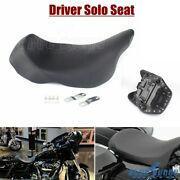 Motorbike Driver Solo Seat For 08-20 Harley Touring Street Glide Flhx 2018-2021