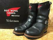 Red Wing For Men Engineer Boots 2268 Collaboration Bespoke Limit Yoji No.9713