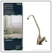 Aquasource Brushed Nickel Cold Water Dispenser With Hi-arc Spout