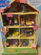 Peppa Pig 17 Piece Lights And Sounds Family Home Figures Furniture New Nib