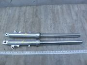 1999 Suzuki Gsx600f Katana S223-1 Left And Right Front Forks Suspensions Set
