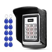 Access Control Keypad Metal Waterproof Cover Outdoor Electronic Card Lock System