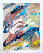 Expressionism Abstraction Art Collectible Contemporary Modernist Home Decoration