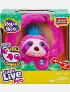 Little Live Pets Rollo The Sloth Interactive Plush Toy.